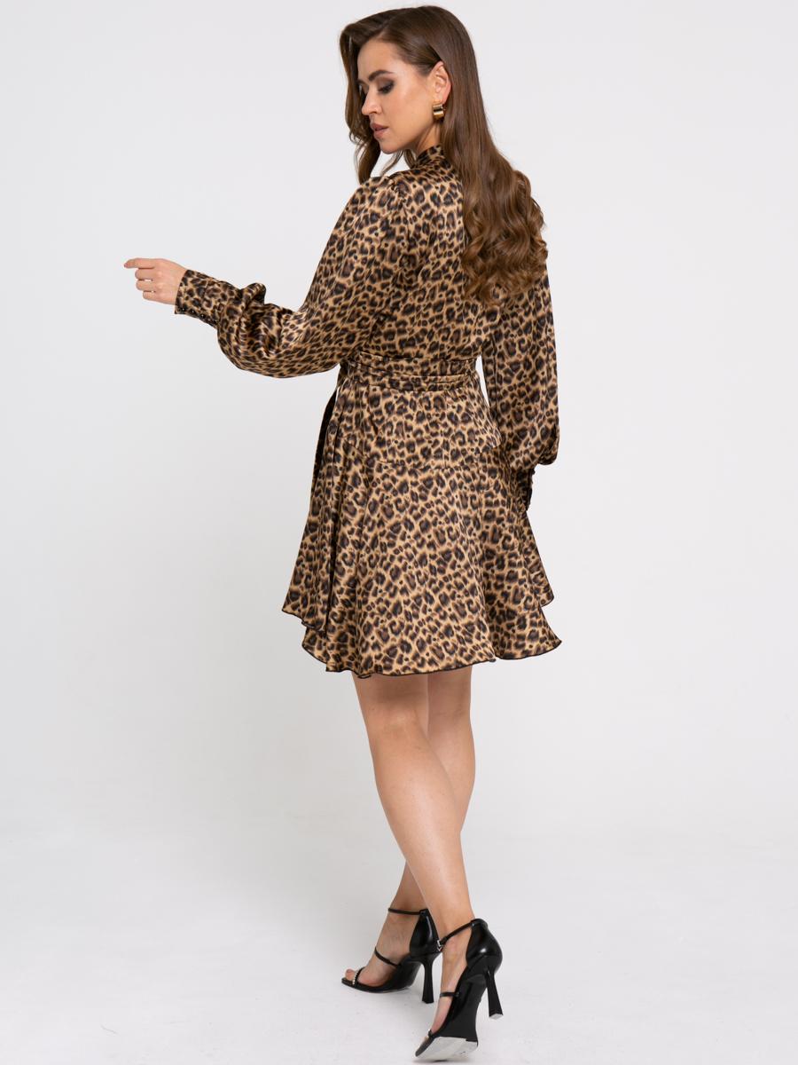 Платье Z422 цвет: коричневый