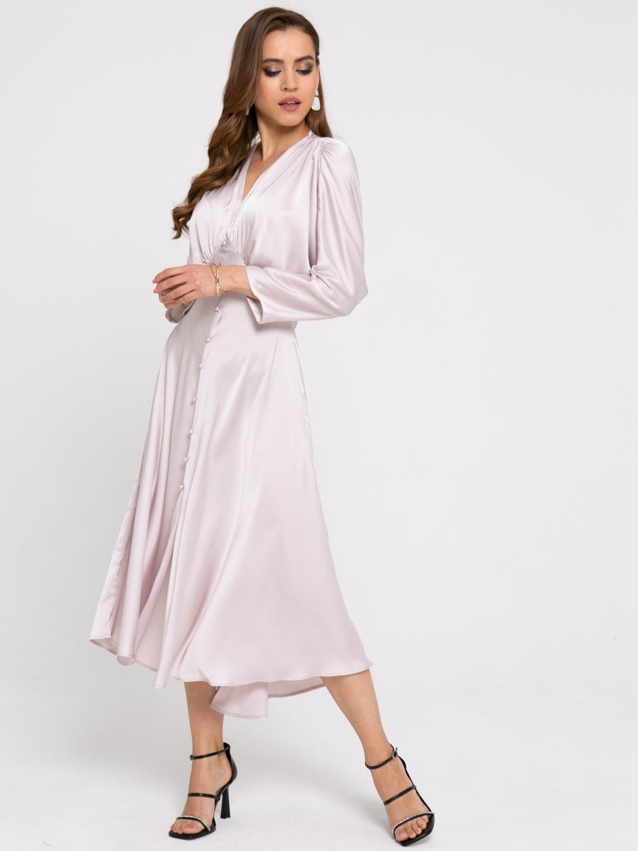 Платье Z426 цвет: жемчужный