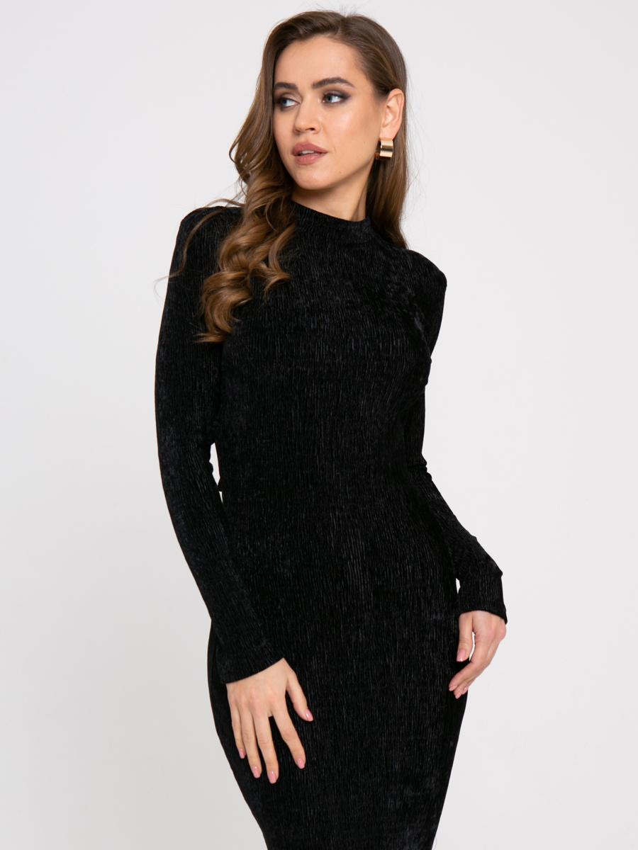 Платье Z425 цвет:черный