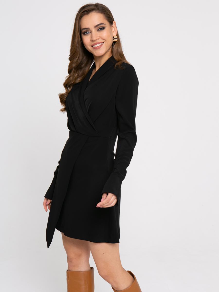 Платье Z423 цвет: черный