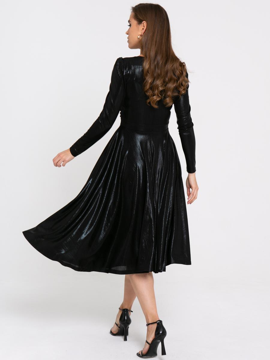 Платье Z424 цвет: черный