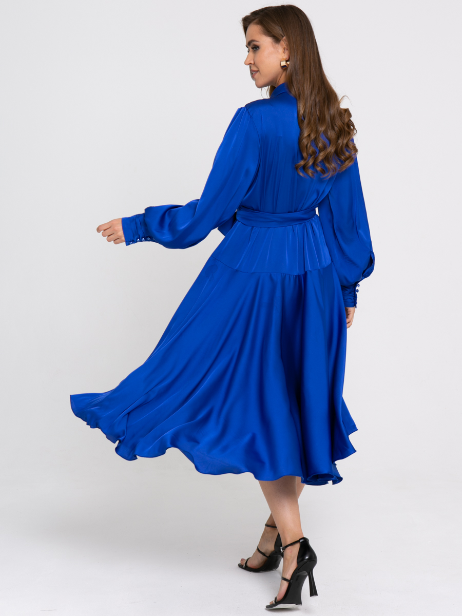 Платье Z429 цвет: синий