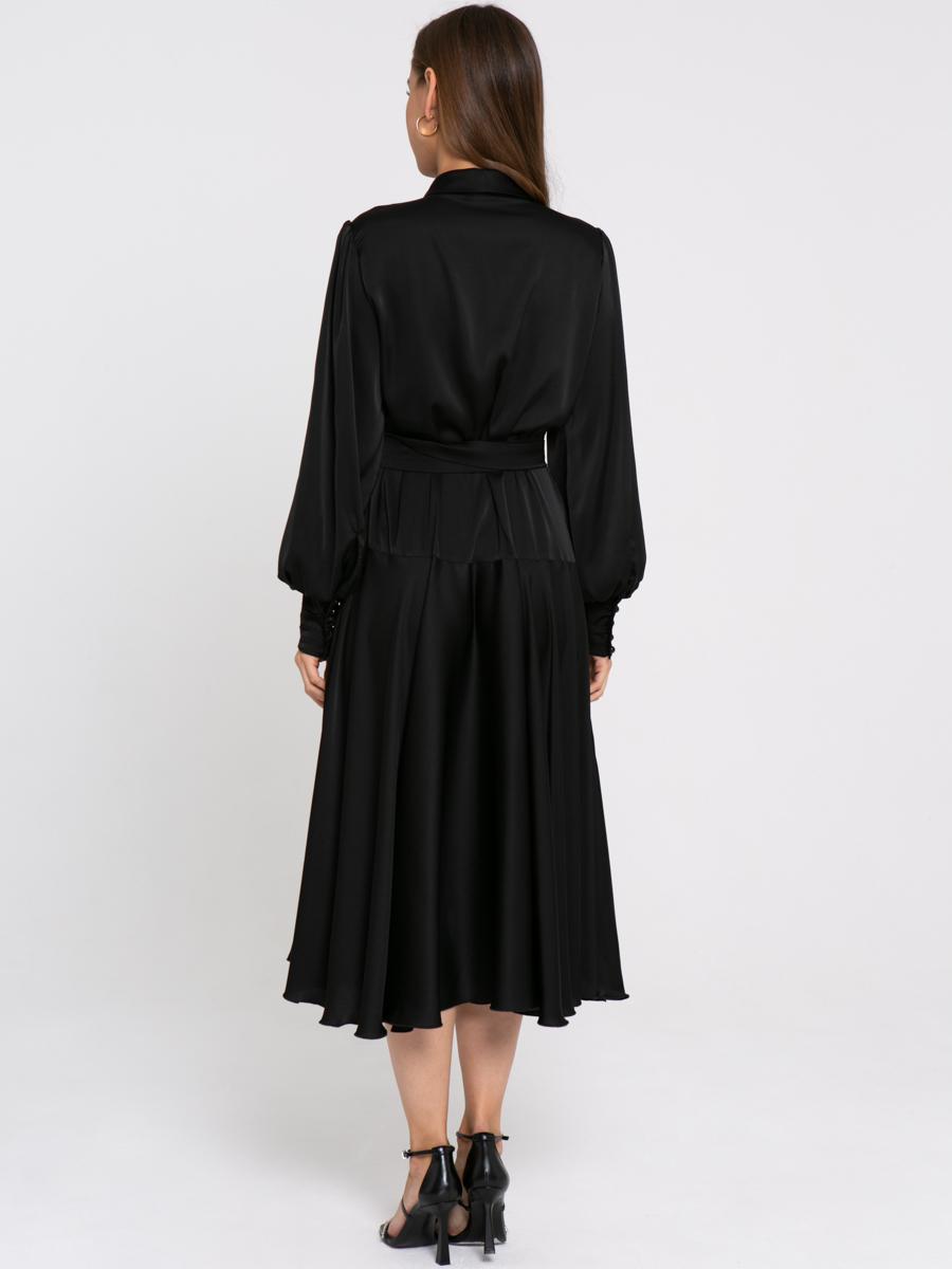 Платье Z429 цвет: черный