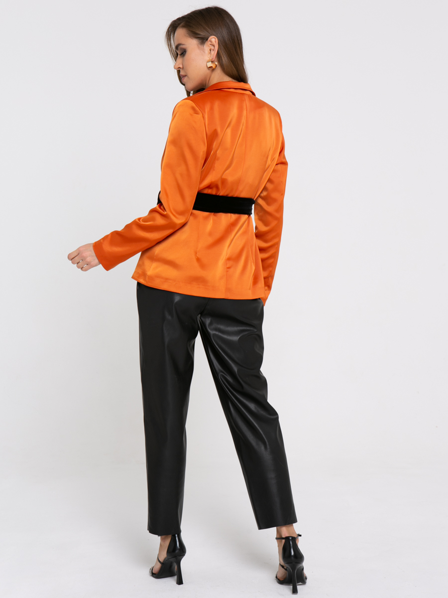 Жакет Z430 цвет: терракотовый