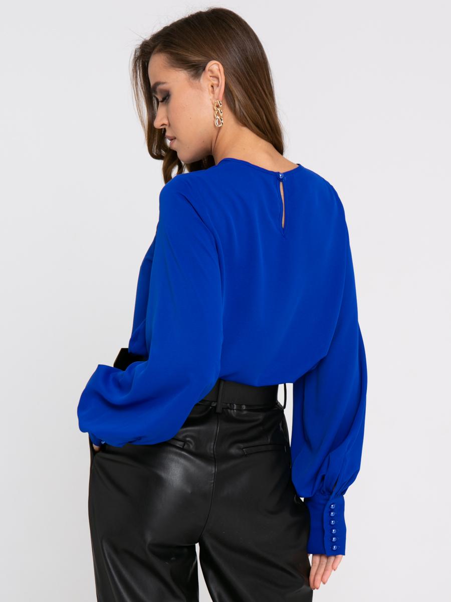 Блузка Z334 цвет: ярко-синий