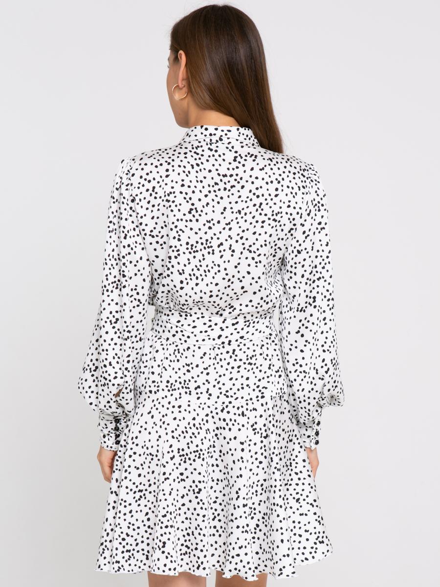 Платье Z422 цвет: молочный