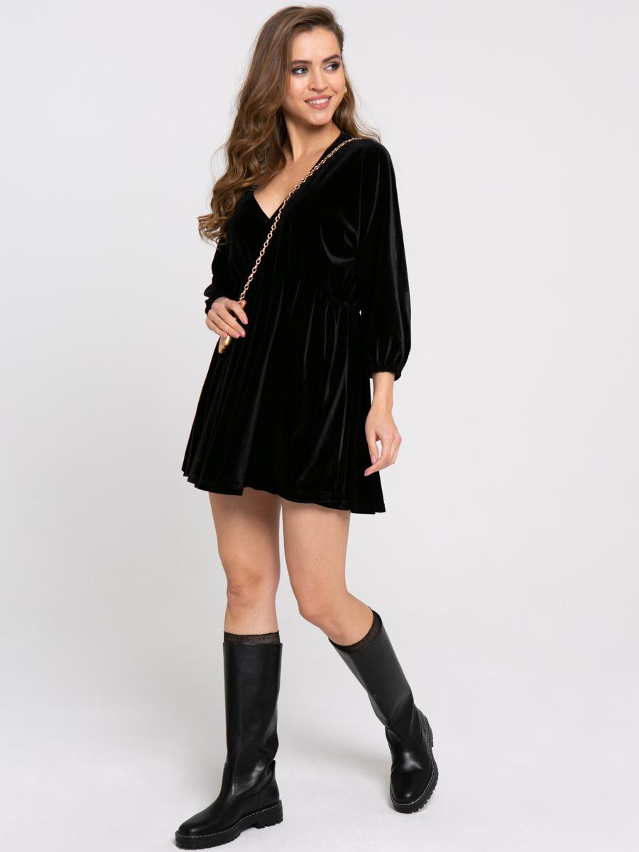 Платье Z428 цвет: черный
