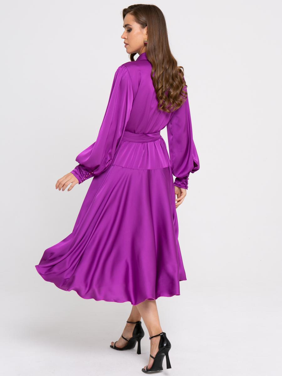 Платье Z429 цвет: лавандовый