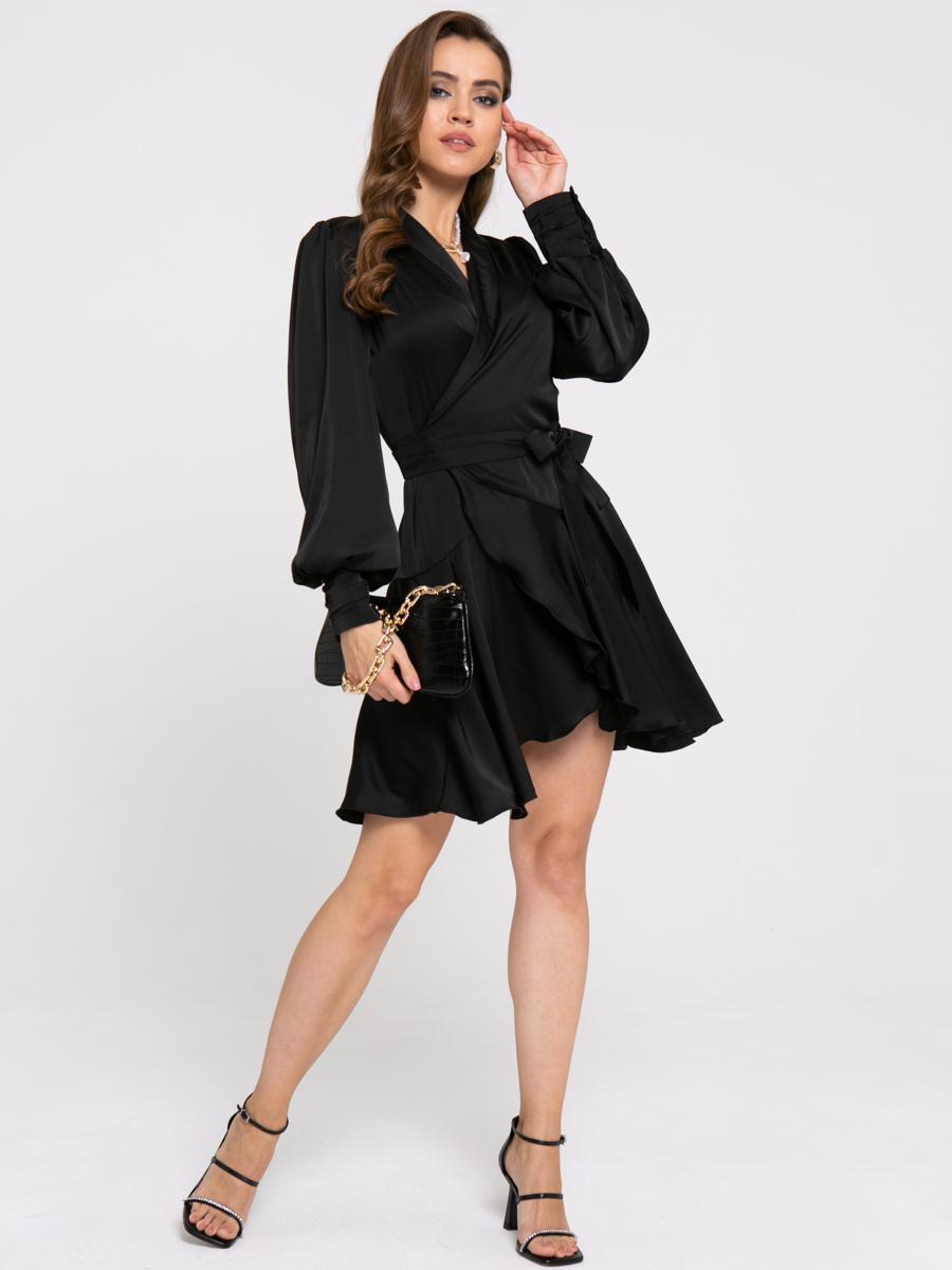 Платье Z422 цвет: черный