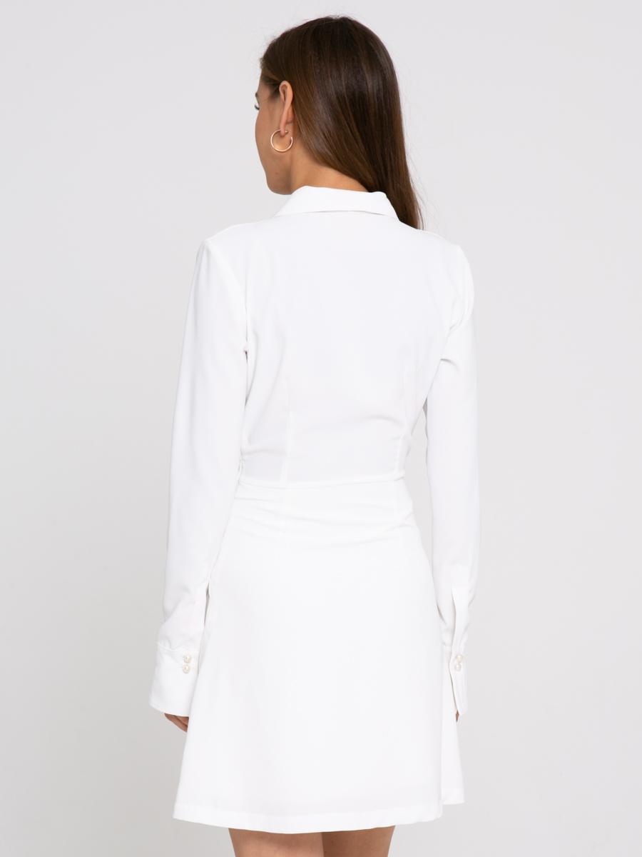 Платье Z423 цвет: молочный