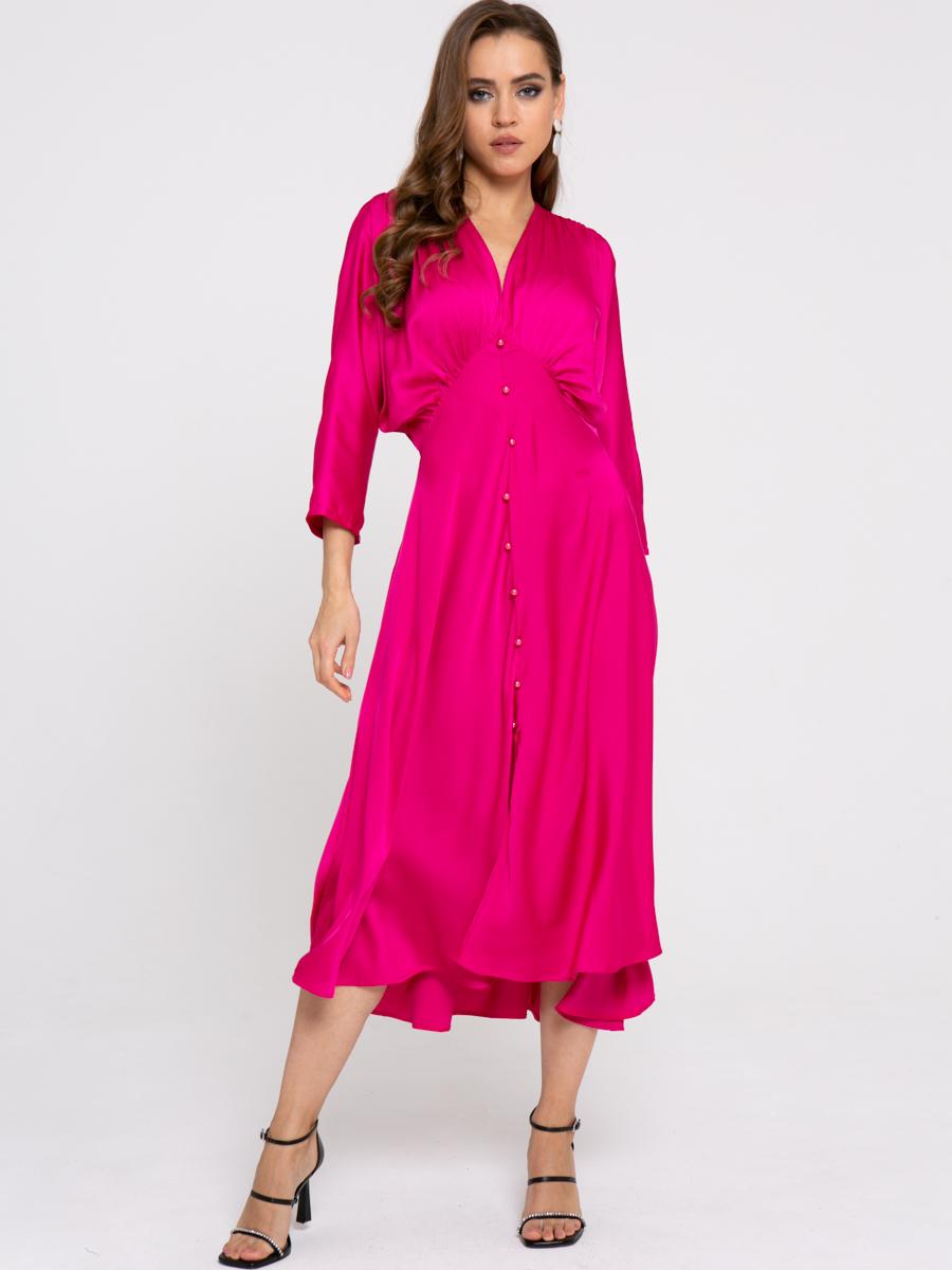 Платье Z426 цвет: фуксия