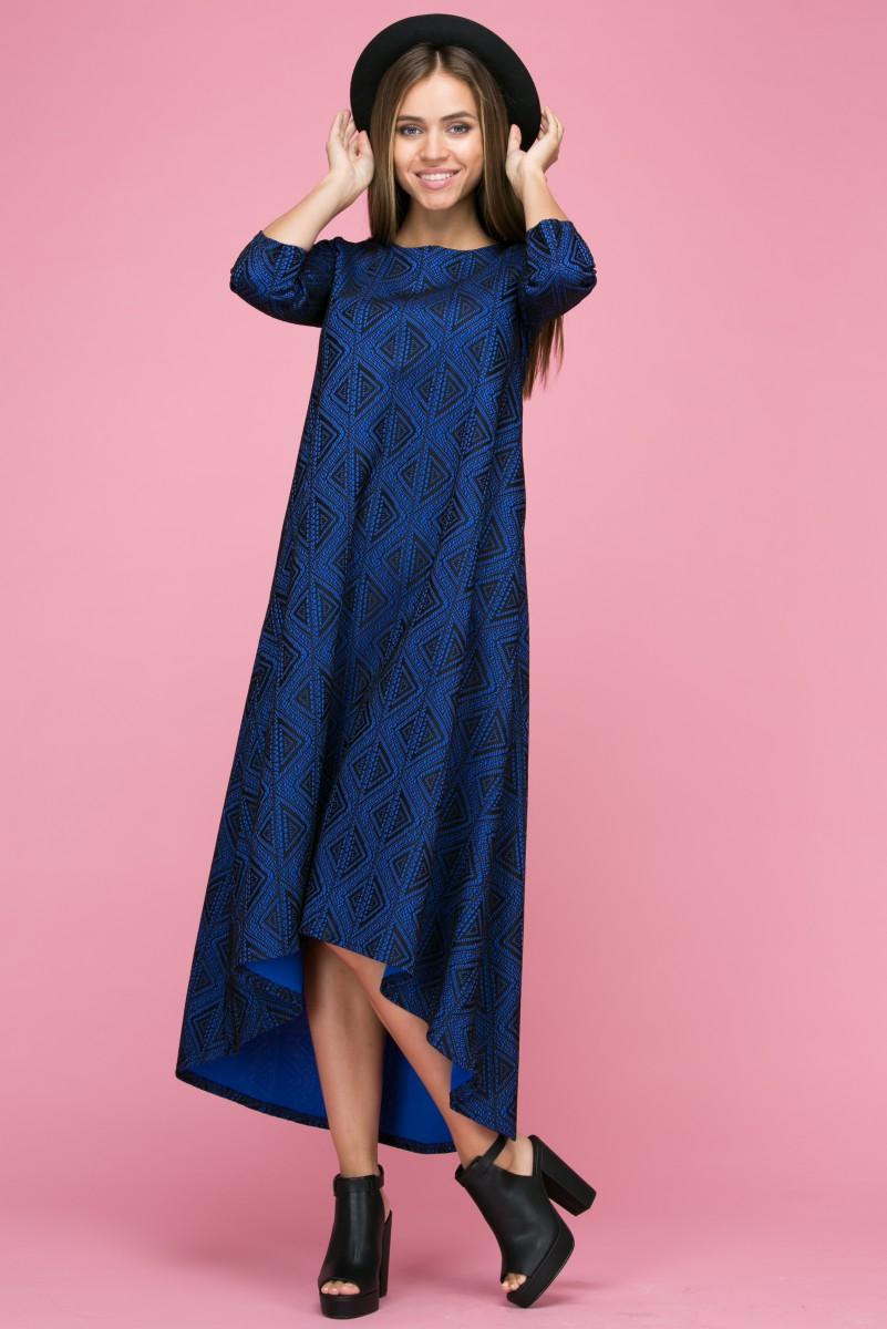 112 Платье цвет синий