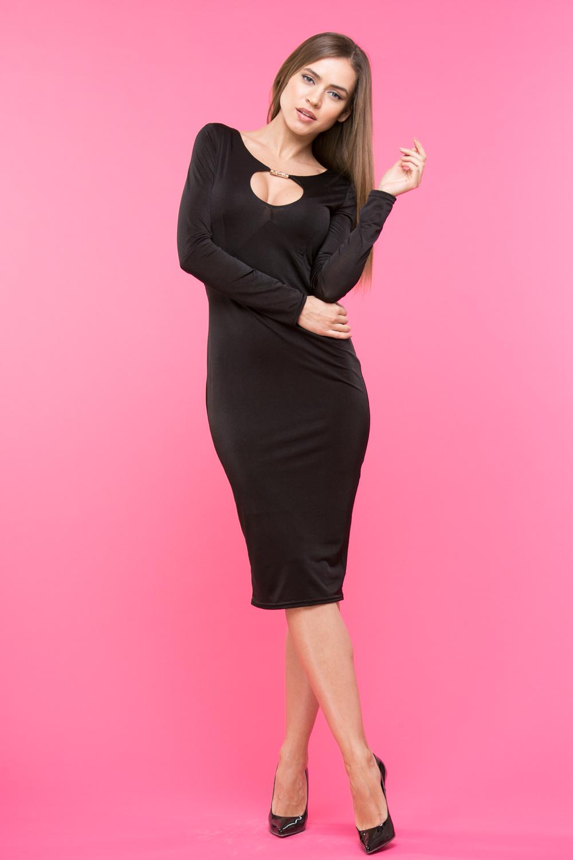 Платье Z120 цвет черный