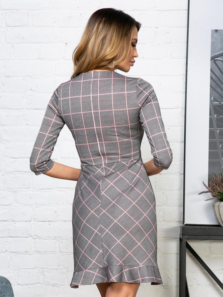 Платье V284 цвет: розовый