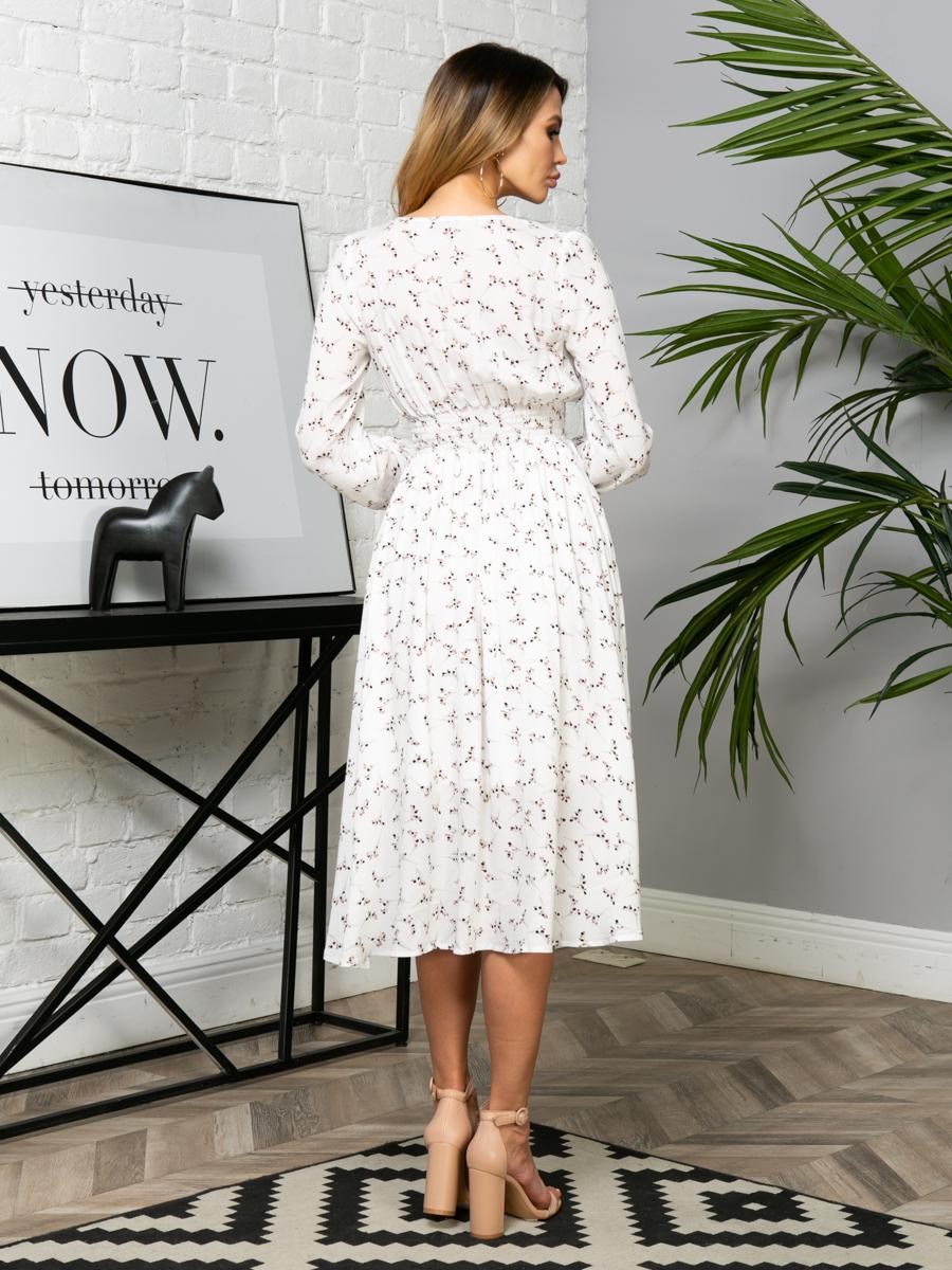 Платье Z254 цвет молочный