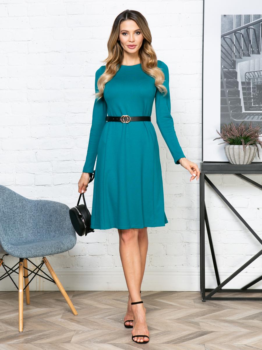 Платье V281 цвет: бирюзовый