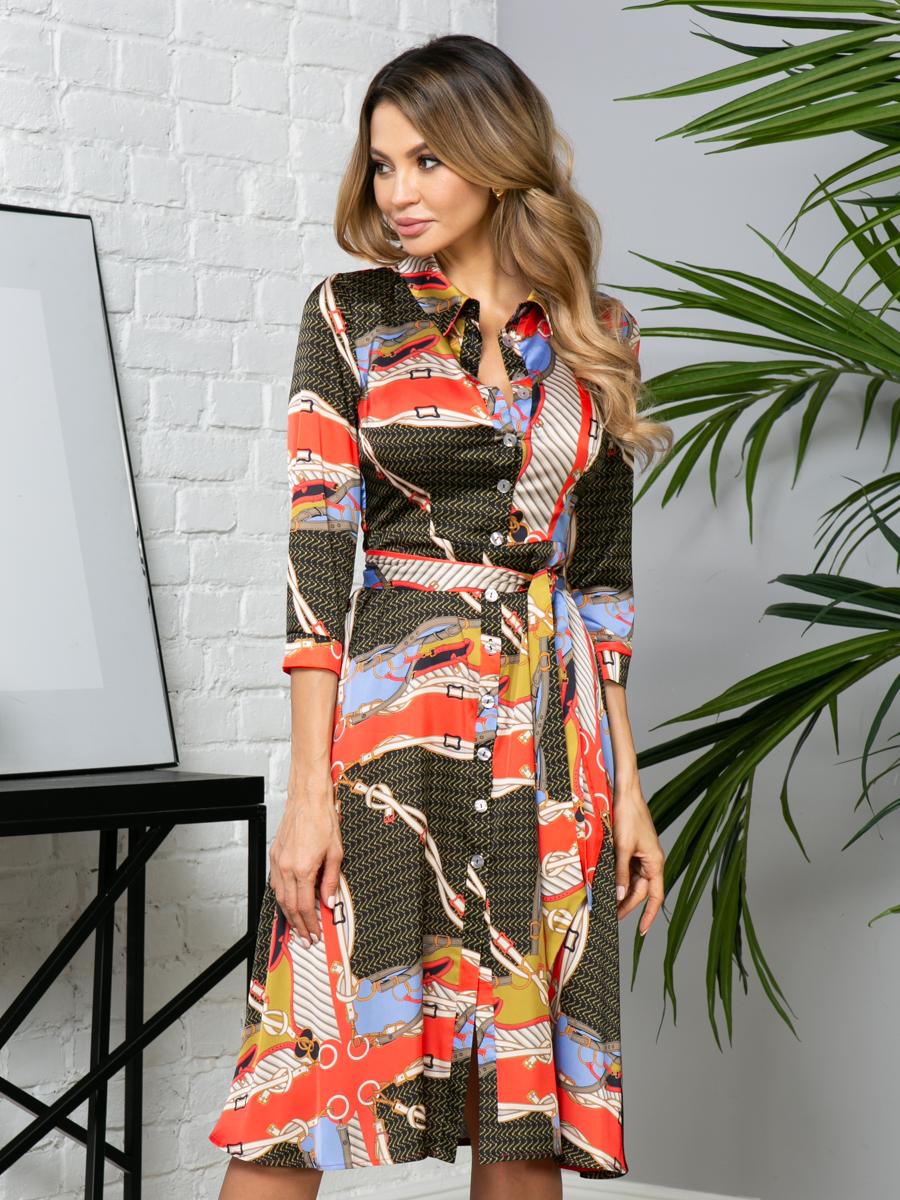 Платье V269 цвет: мультиколор