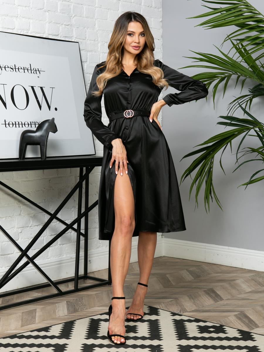 Платье V289 цвет: черный