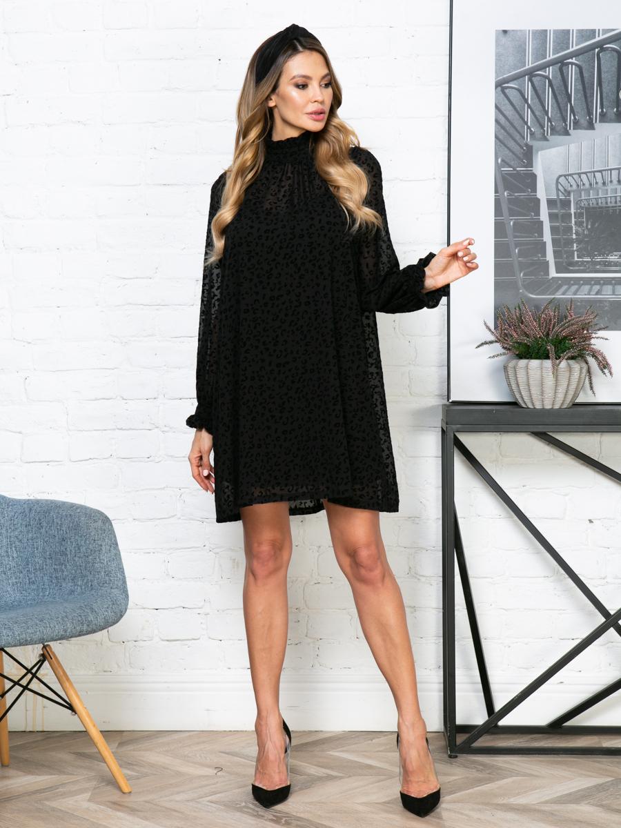 Платье V268 цвет: черный
