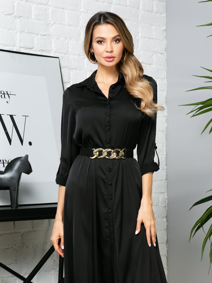 Платье V288 цвет: черный