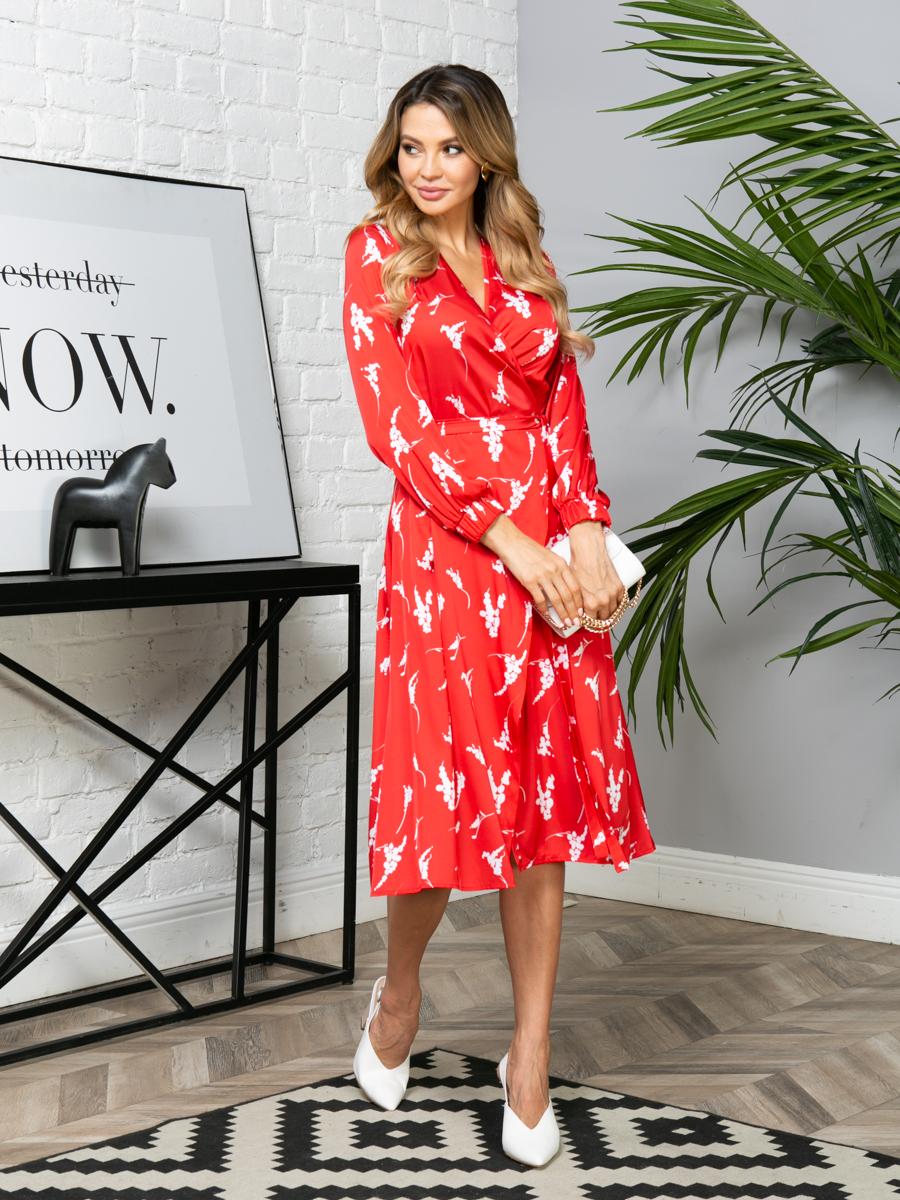 Платье V280 цвет: красный