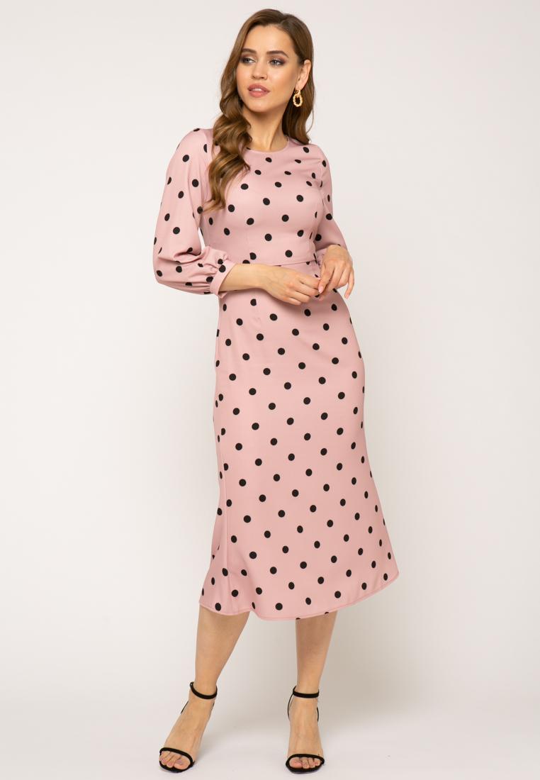 Платье V343 цвет розовый