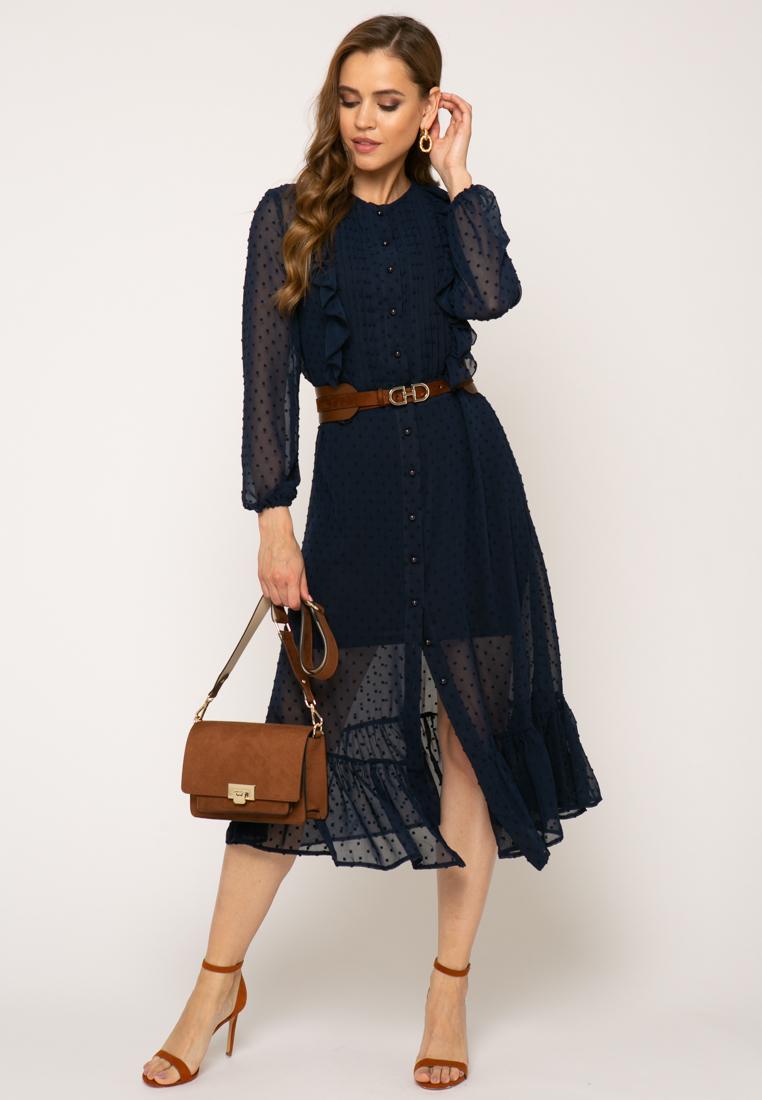 Платье V364 цвет синий