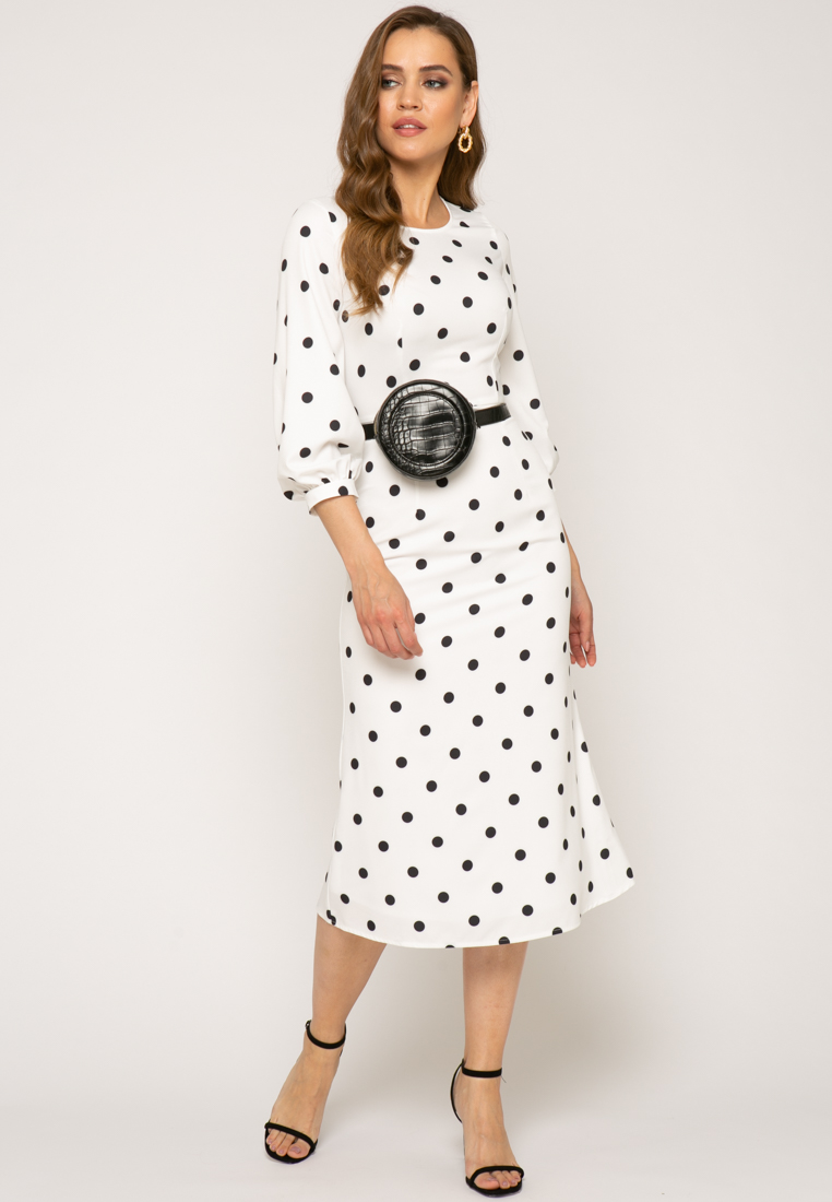 Платье V343 цвет молочный