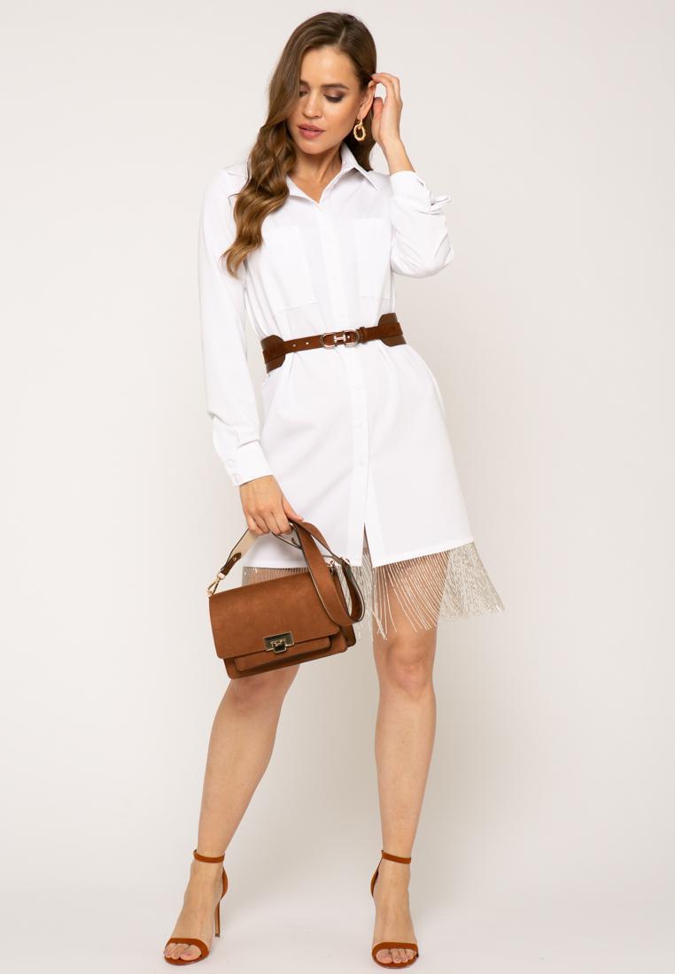 Платье V378 цвет белый