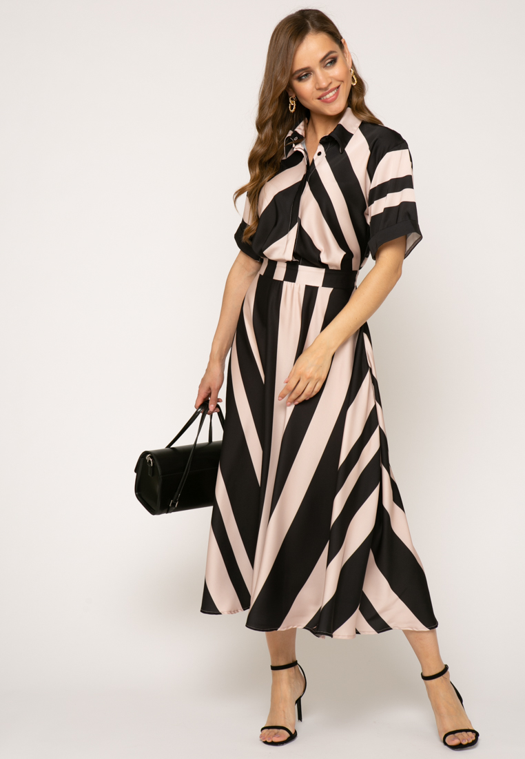 Платье V347 цвет бежевый