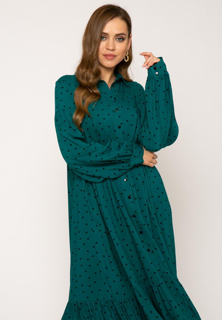Платье V369 цвет зеленый