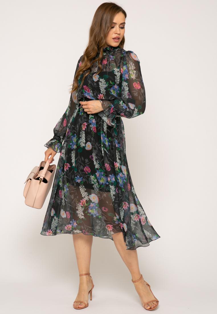 Платье V363 цвет черный