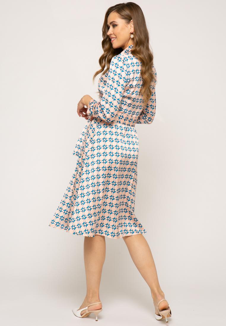 Платье V305 цвет бежевый