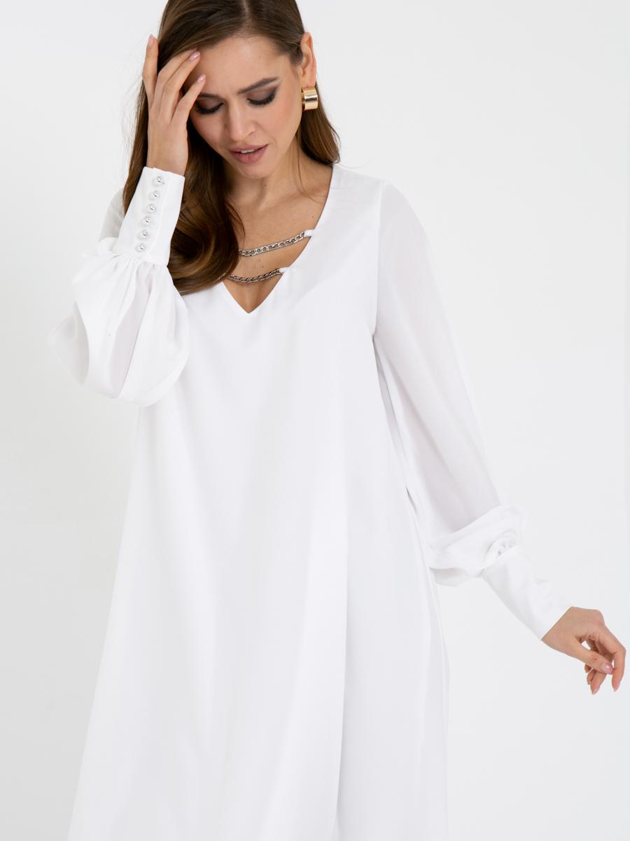 Платье V436 цвет: молочный