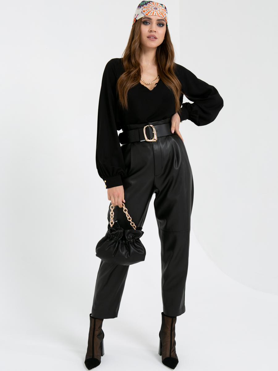 Блузка V435 цвет: черный