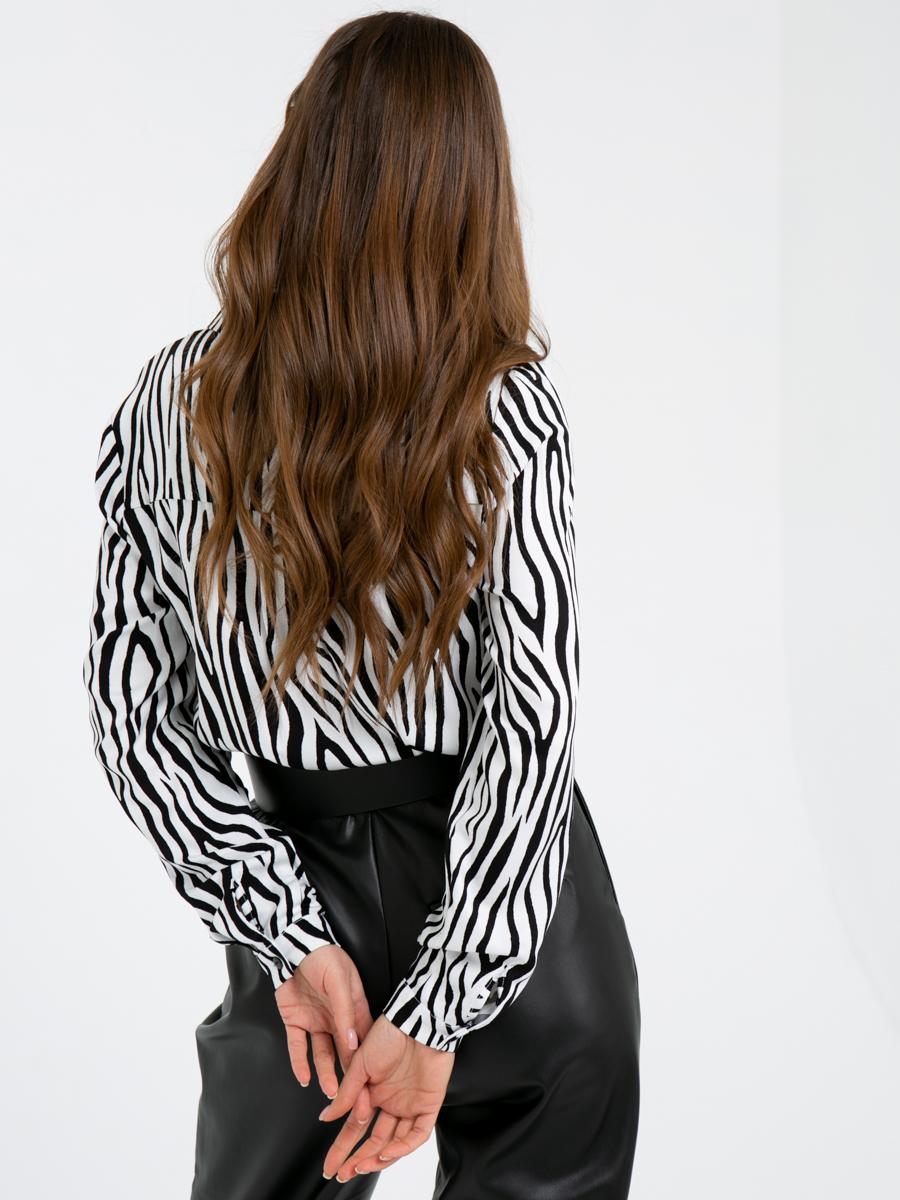 Блузка A402 цвет: белый
