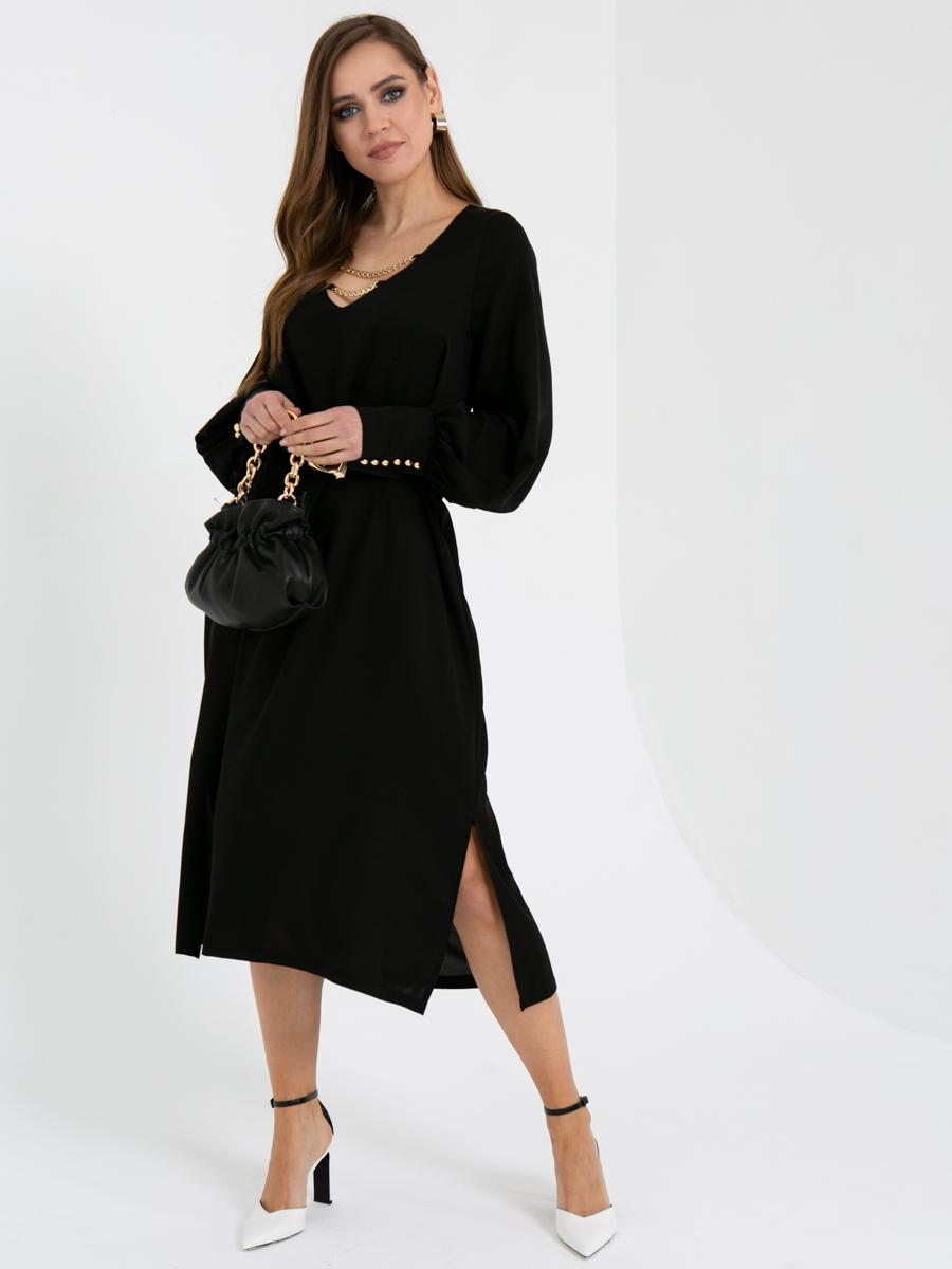 Платье V436 цвет: черный
