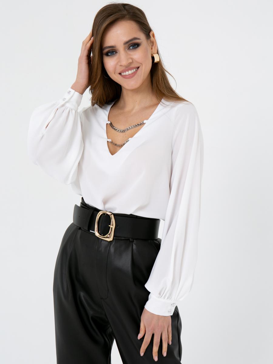 Блузка V435 цвет: белый