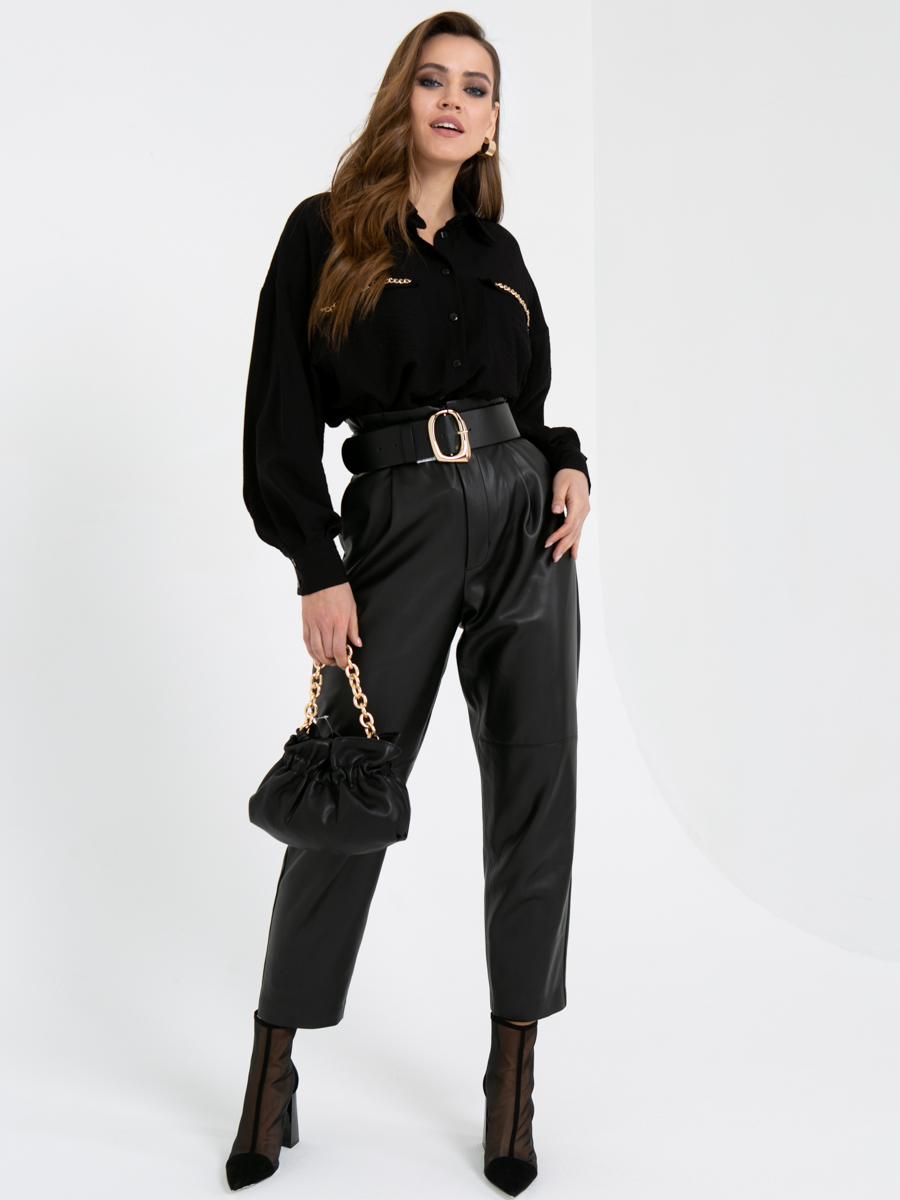 Блузка V440 цвет: черный