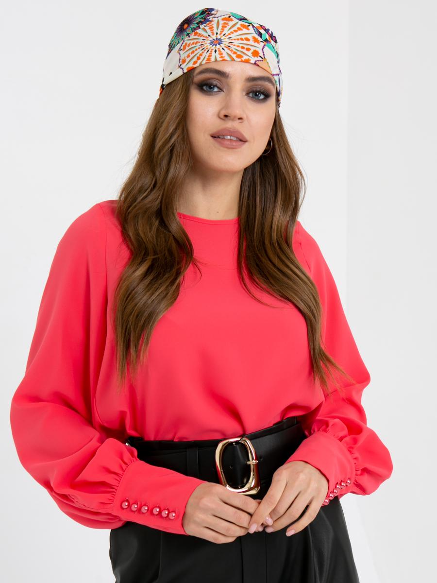 Блузка Z334 цвет: коралловый