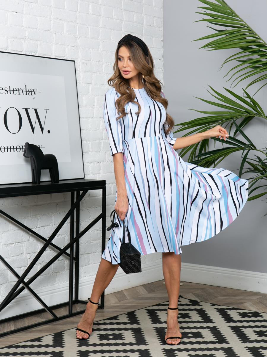 Платье L294 цвет: мультиколор