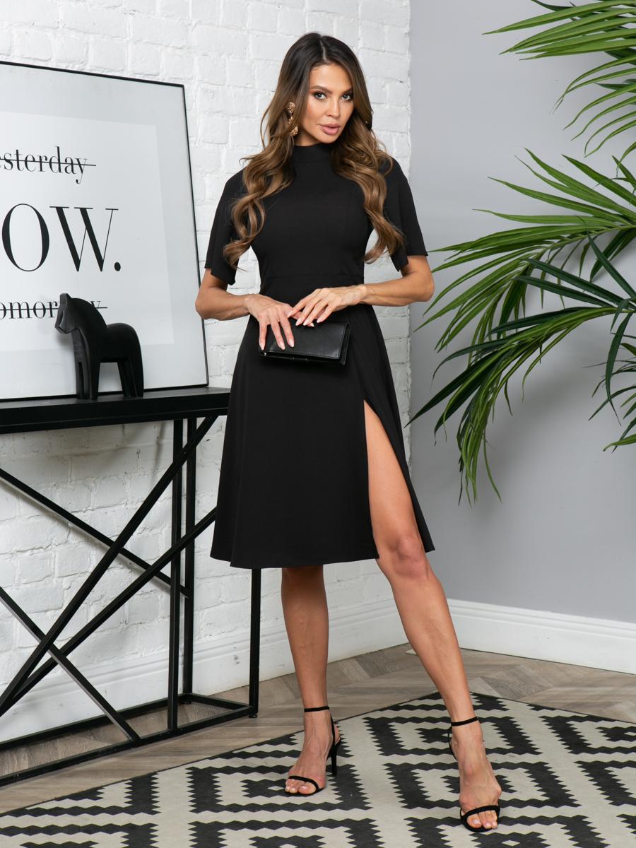 Платье L296 цвет: черный