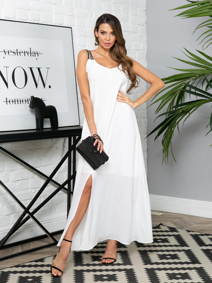 Платье L300 цвет: молочный
