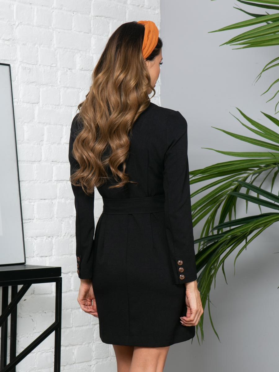 Платье L297 цвет: черный