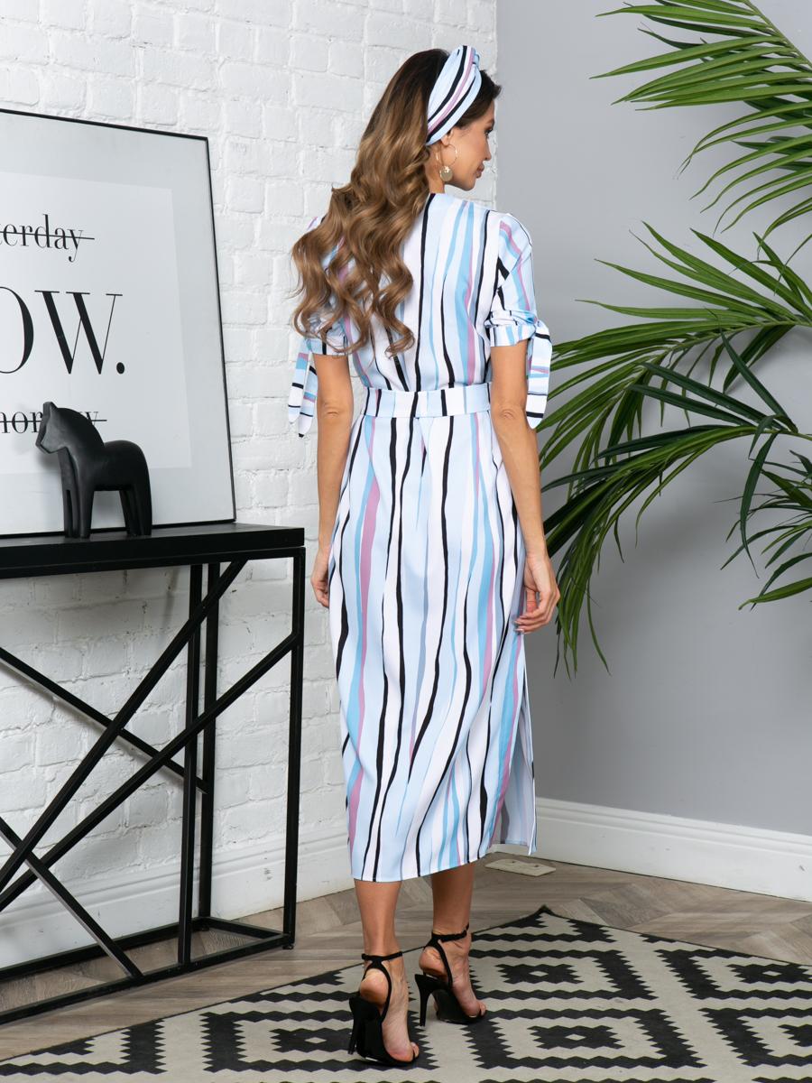 Платье L295 цвет: мультиколор