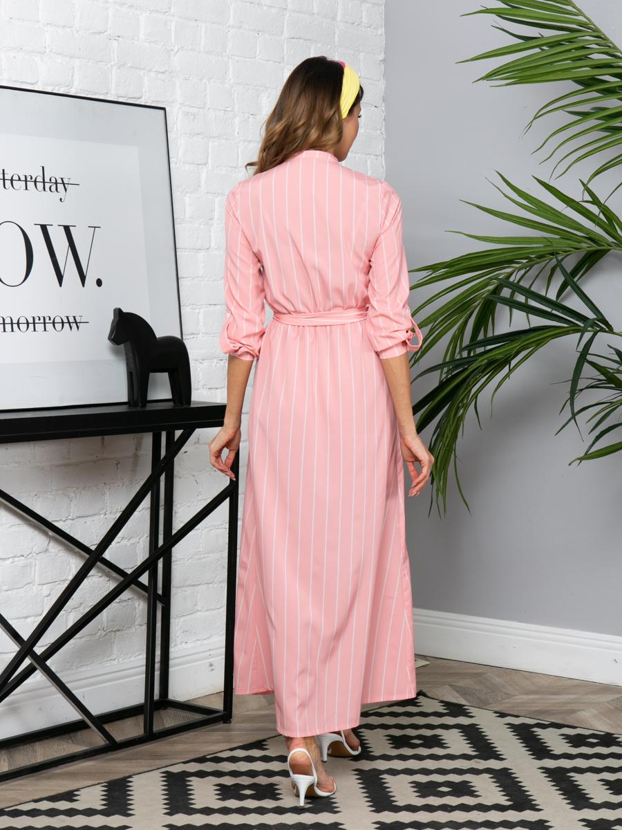 Платье L290 цвет: персиковый