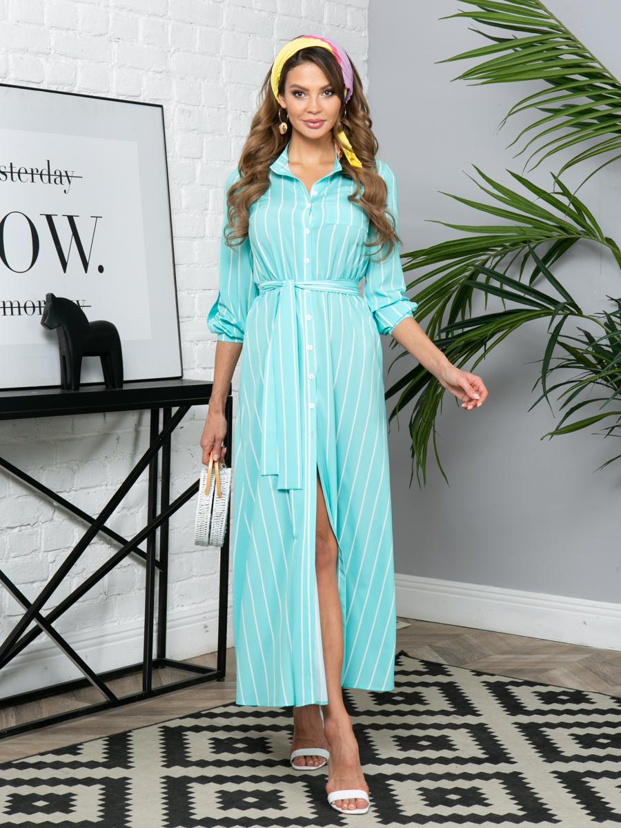 Платье L290 цвет:мятный