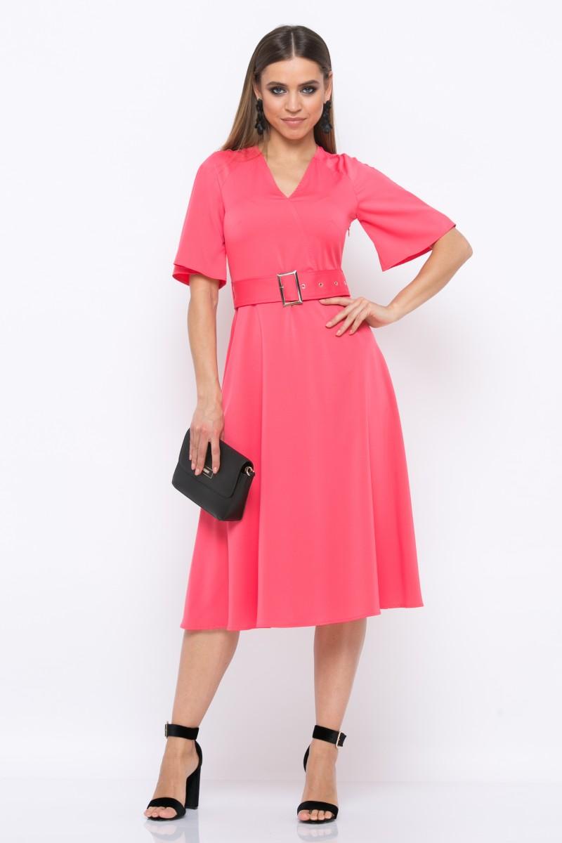 Платье V213 цвет коралловый