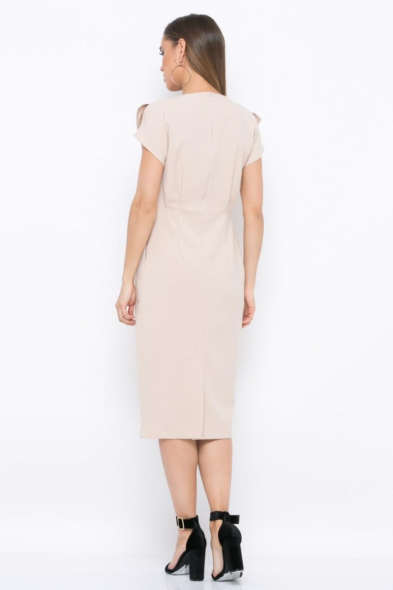 Платье V210 цвет бежевый