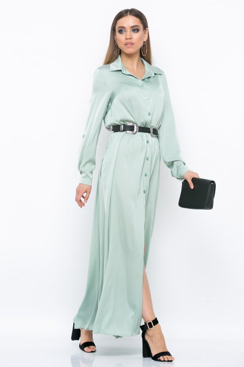 Платье V218 цвет фисташковый